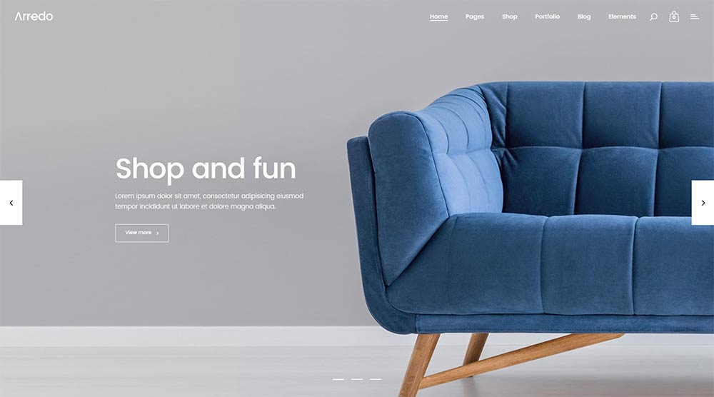 Arredo-WordPress-Theme