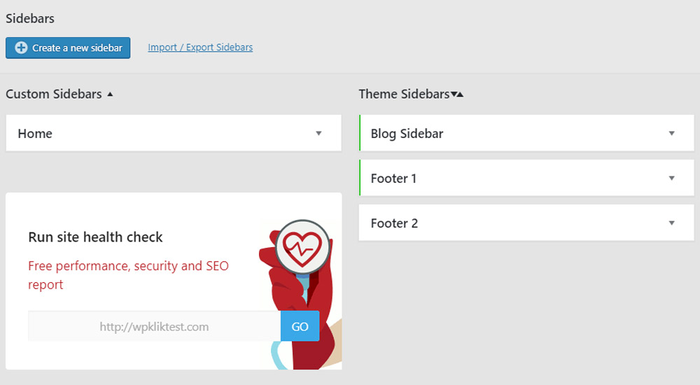 Create a New Sidebar with Custom Sidebars – Dynamic Widget Area Manager