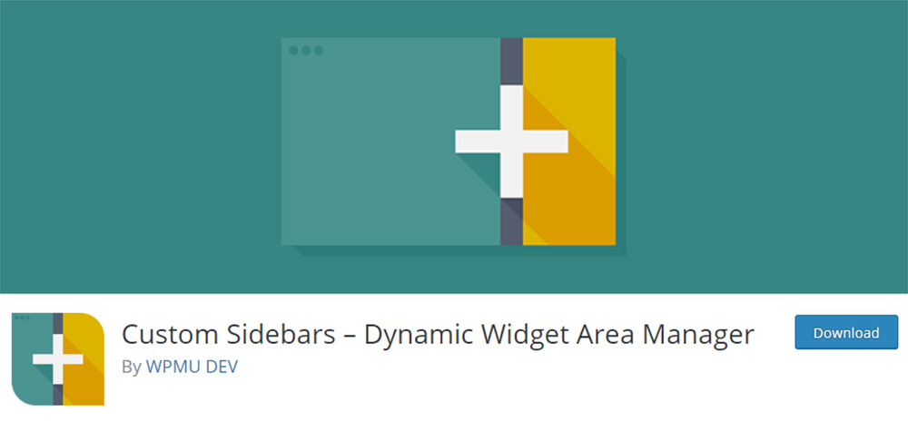 Custom Sidebars – Dynamic Widget Area Manager Plugin