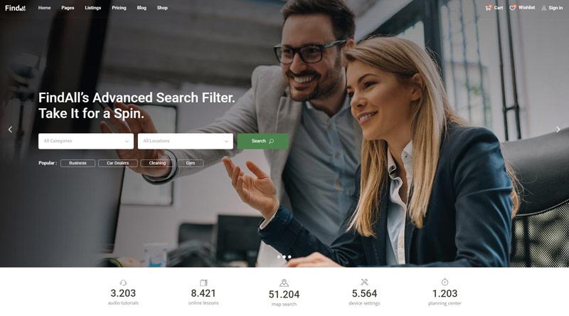 FindAll WordPress Theme