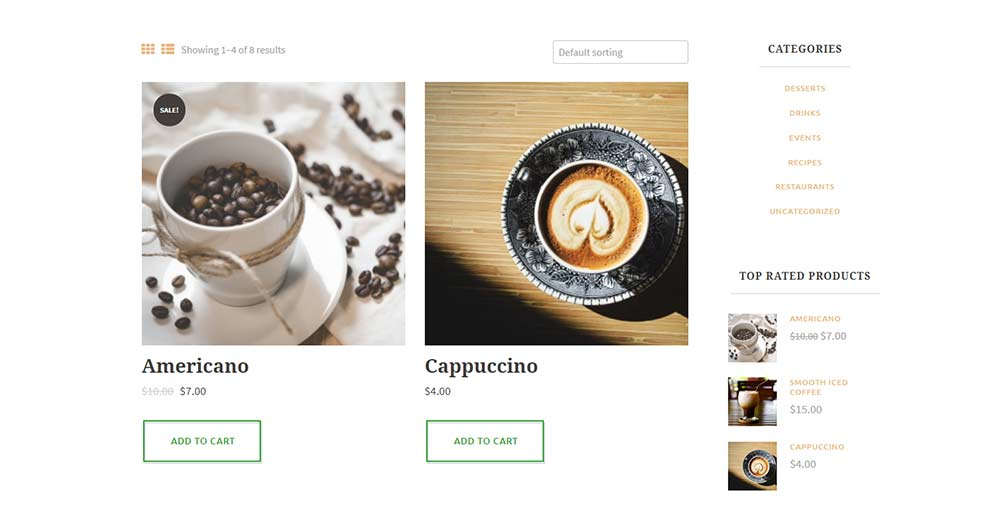 Hot Coffee Theme