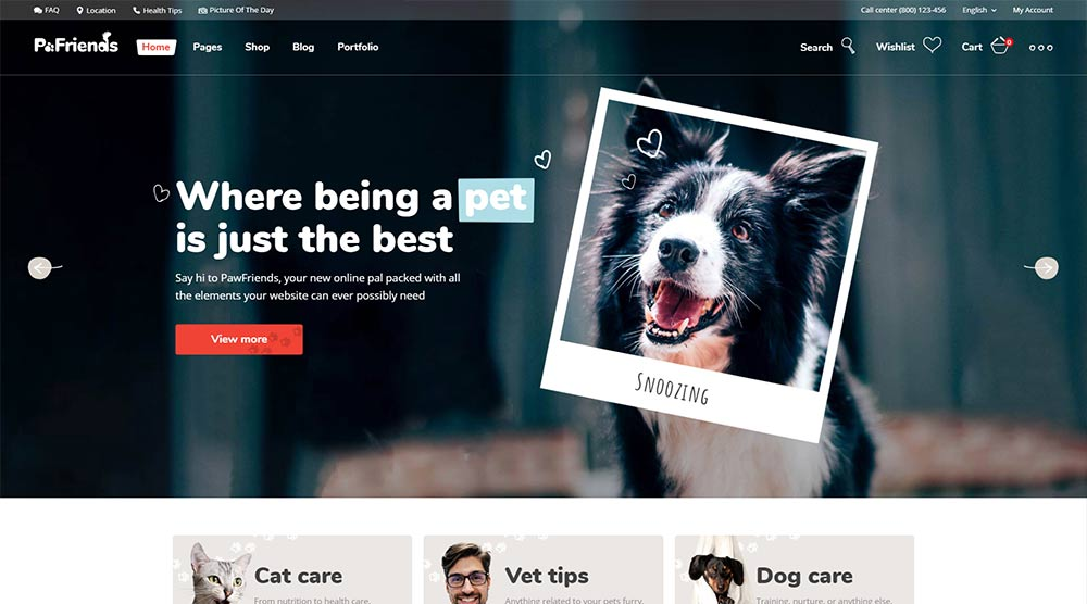 Pawfriends-WordPress-Theme