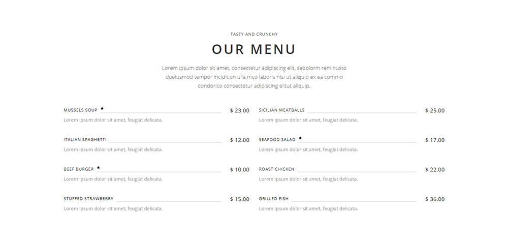 Savory WordPress Theme Shortcode