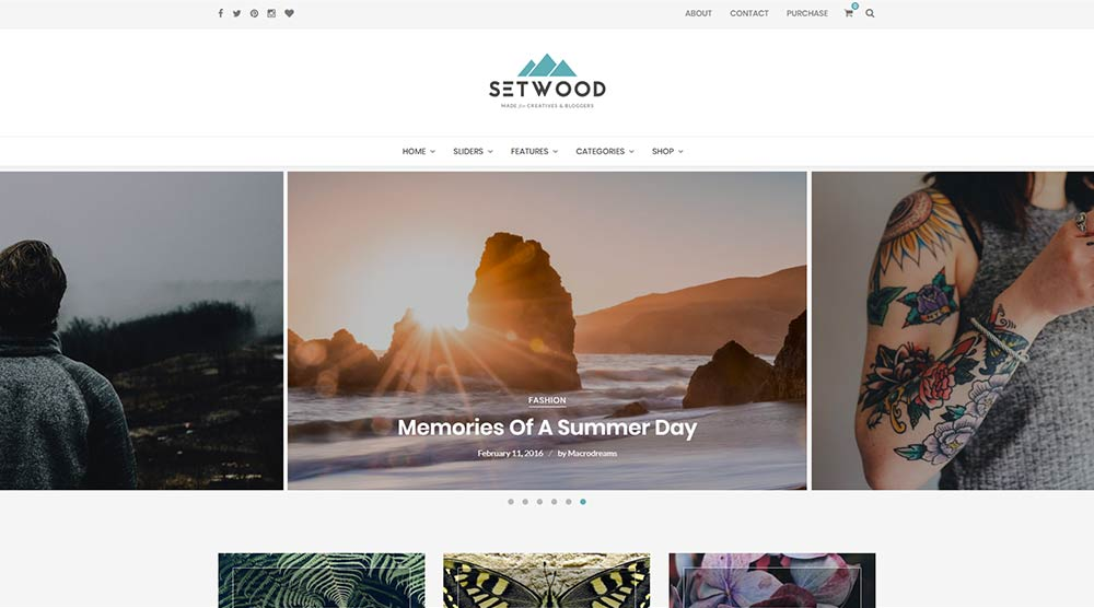 Setwood WordPress Theme