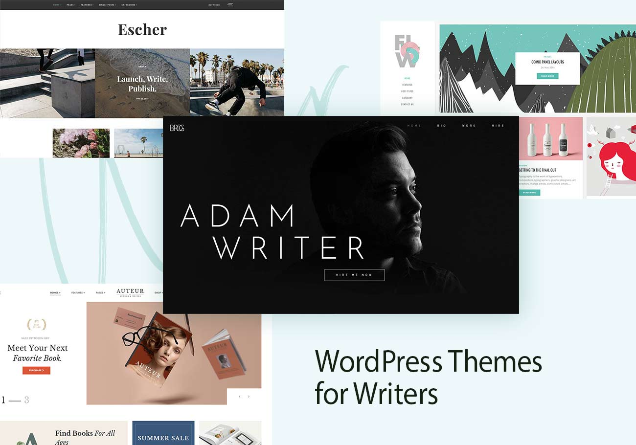 10 Best WordPress Themes for Writers
