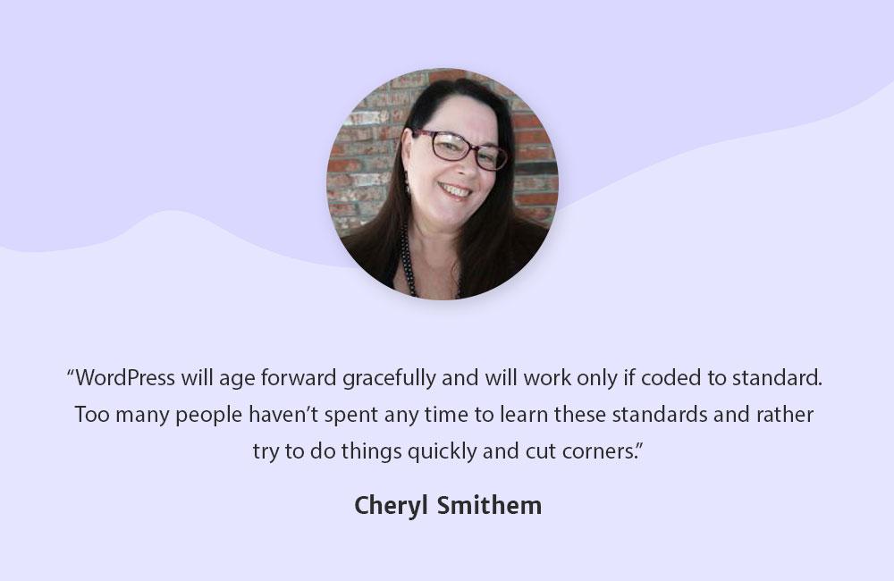 Cheryl Smithem