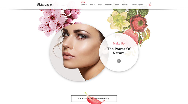 Skincare WordPress Theme