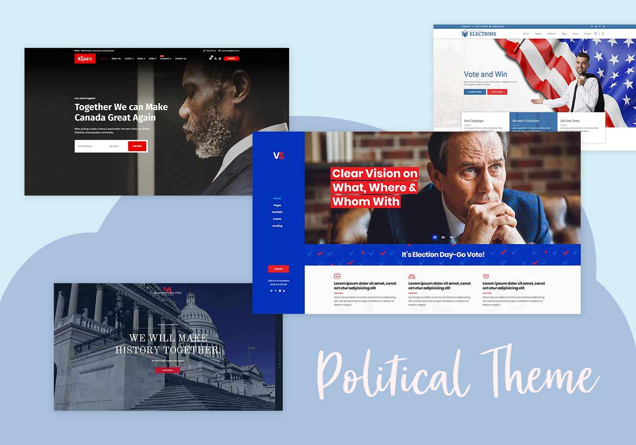 WordPress Political Themes That Win