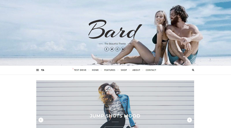 Bard WordPress Theme