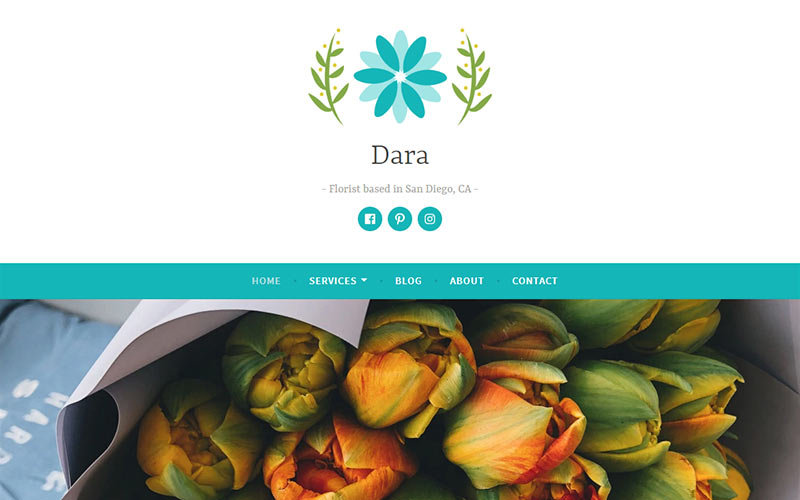 Dara WordPress Theme