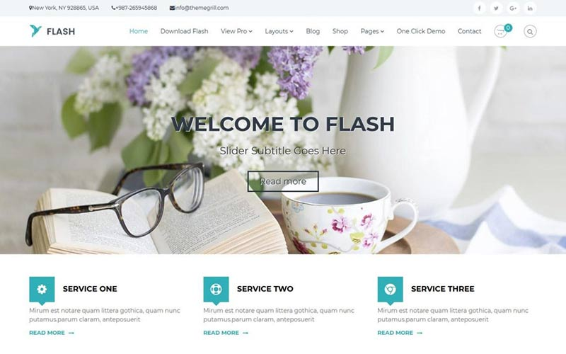 Flash WordPress Theme