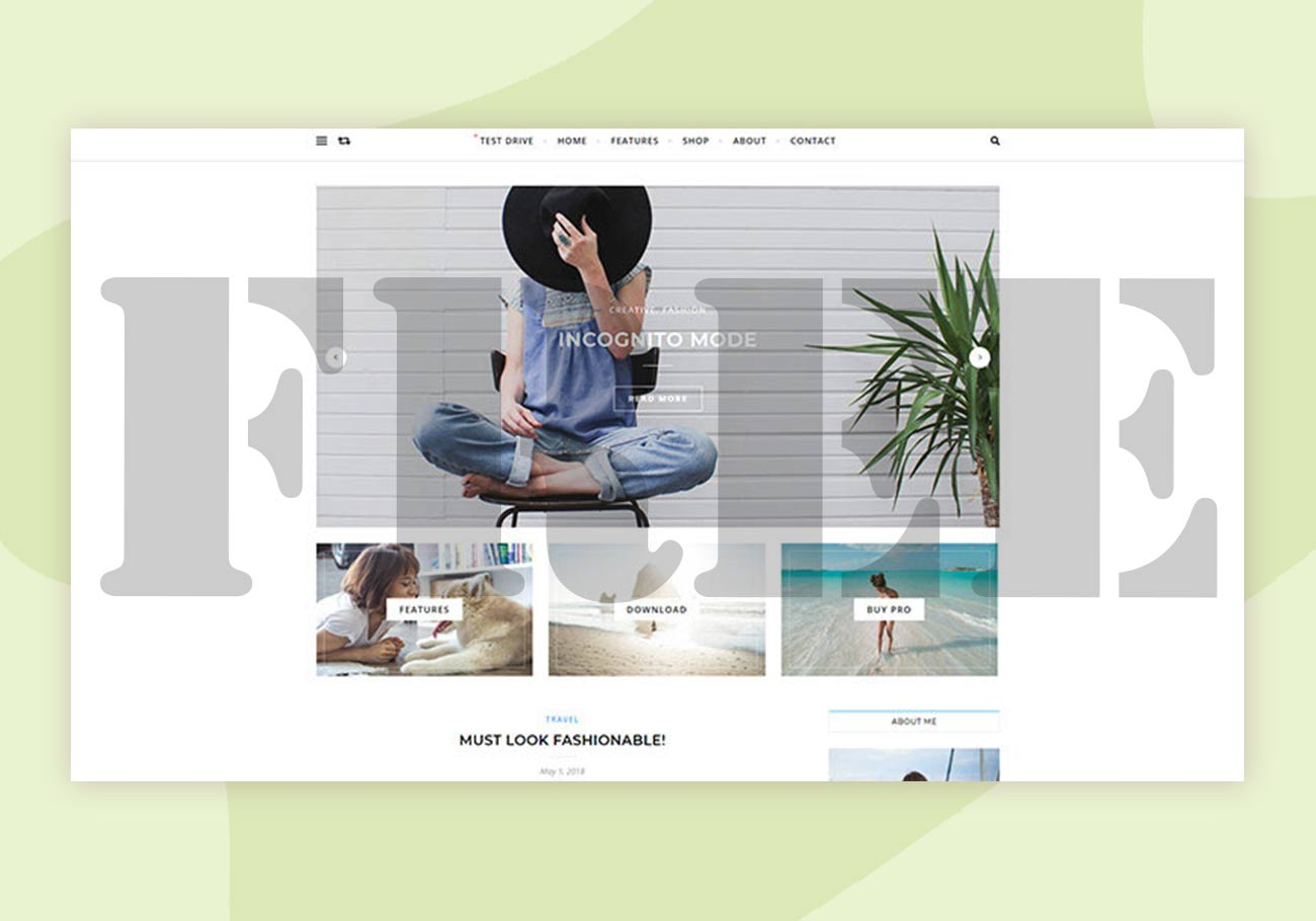 Free Feminine WordPress Themes with a Gentle Touch
