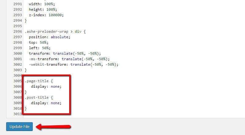 Insert the code