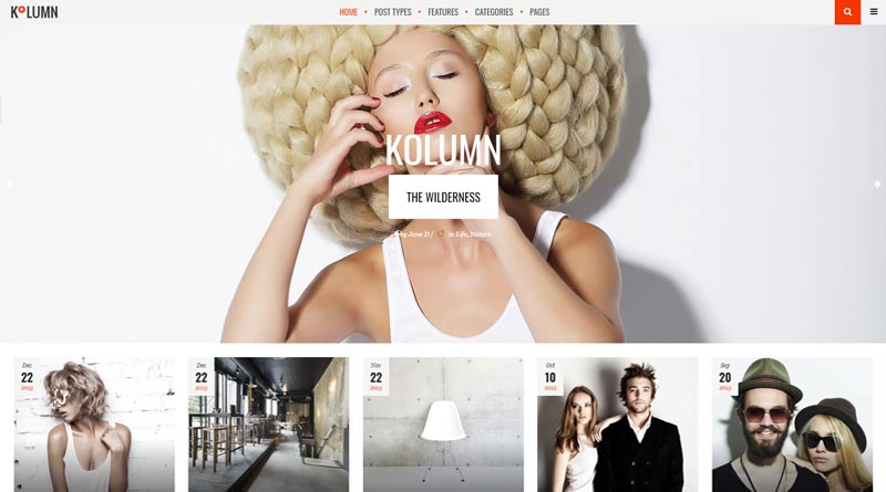 Kolumn WordPress Theme