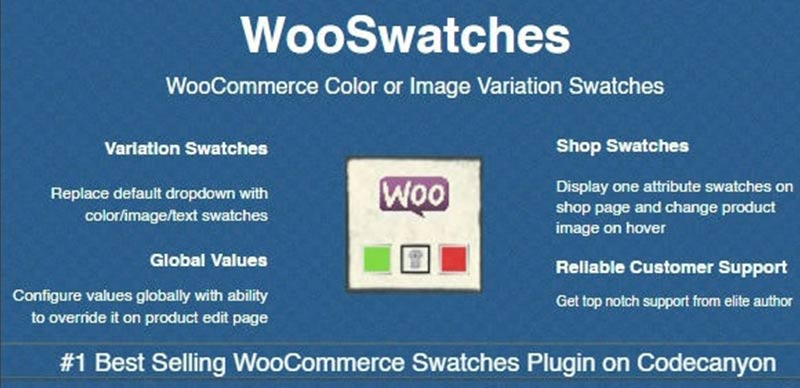 WooCommerce Color or Image Variation Swatches
