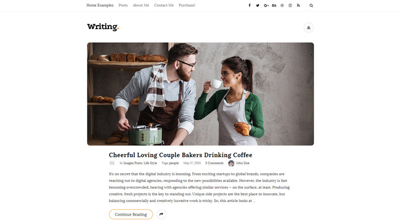 Writing WordPress Theme