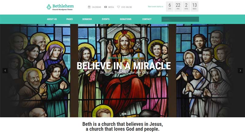 Bethlehem WordPress Theme
