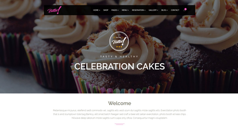 Butter WordPress Theme