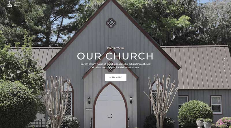 Chapel WordPress Theme
