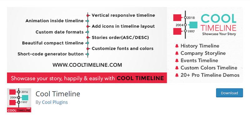 Cool Timeline Plugin
