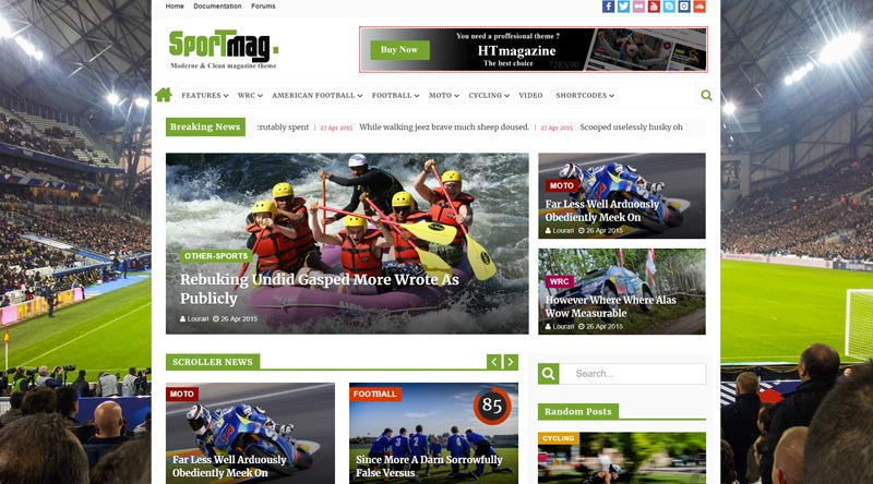 HTmagazine WordPress Theme
