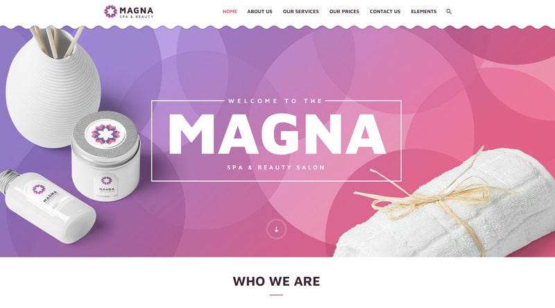 Magna WordPress Theme