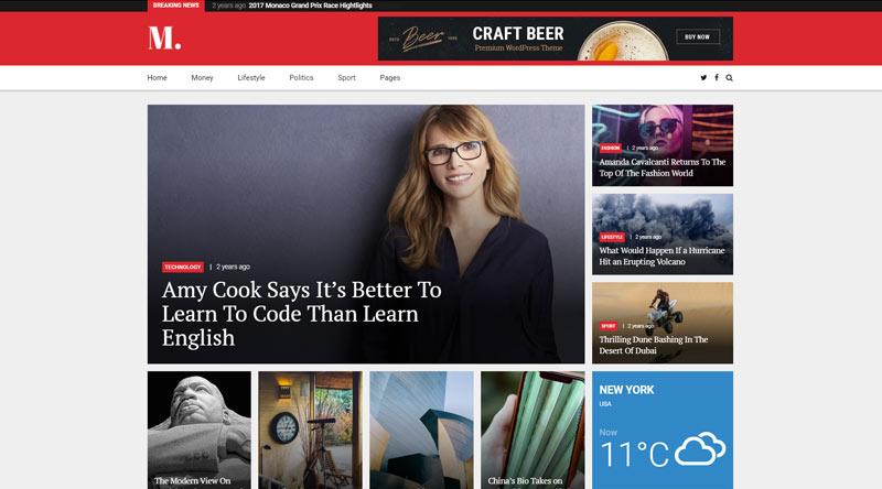 NewStar WordPress Theme