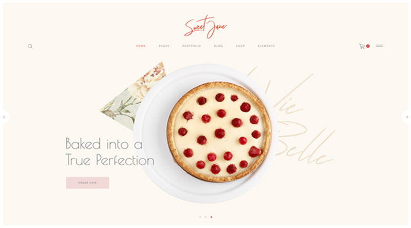 Sweet Jane WordPress Theme