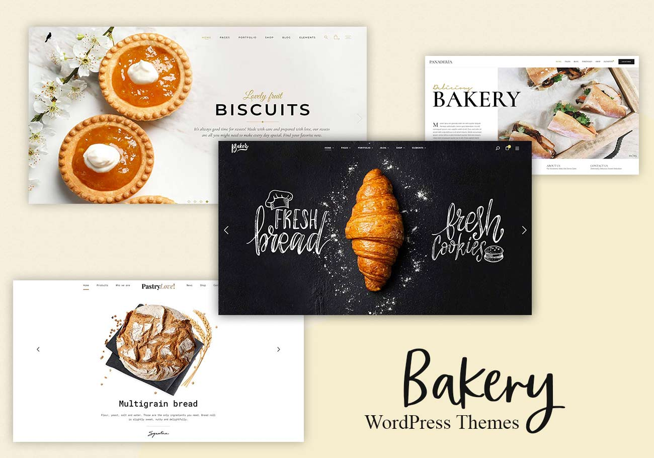 Tastiest WordPress Themes for Bakeries