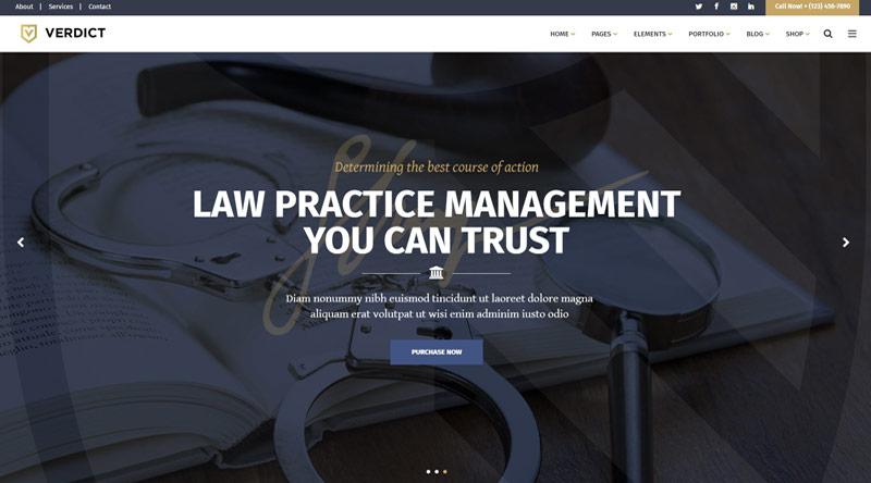 Verdict WordPress Theme