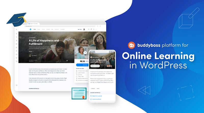 BuddyBoss for Online Courses