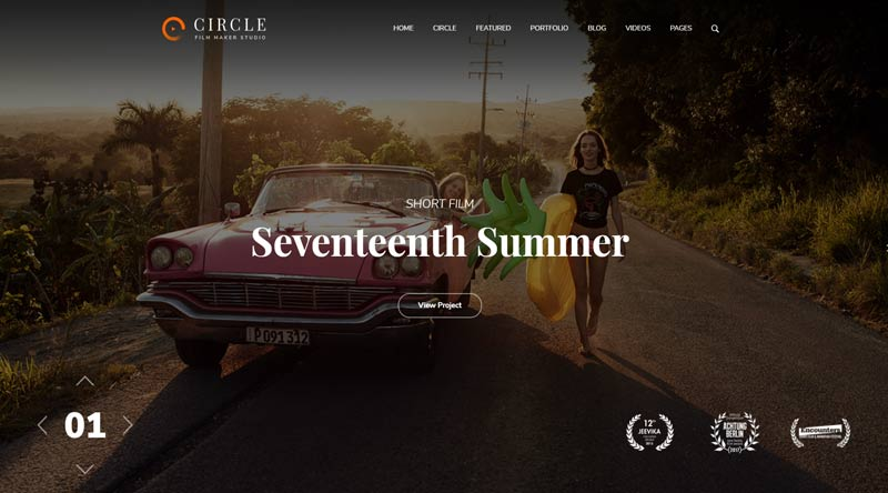 Circle WordPress Theme