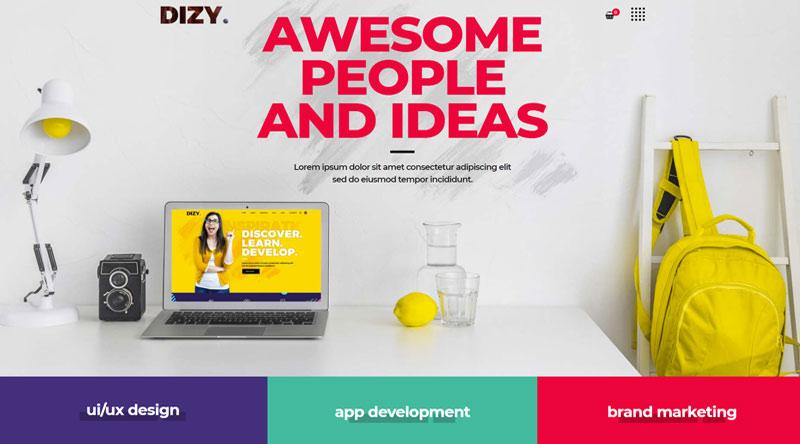 Dizy WordPress Theme