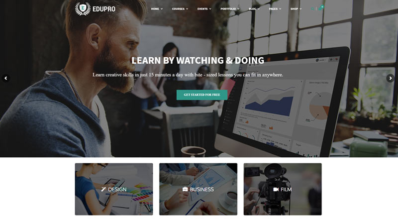 EduPro WordPress Theme