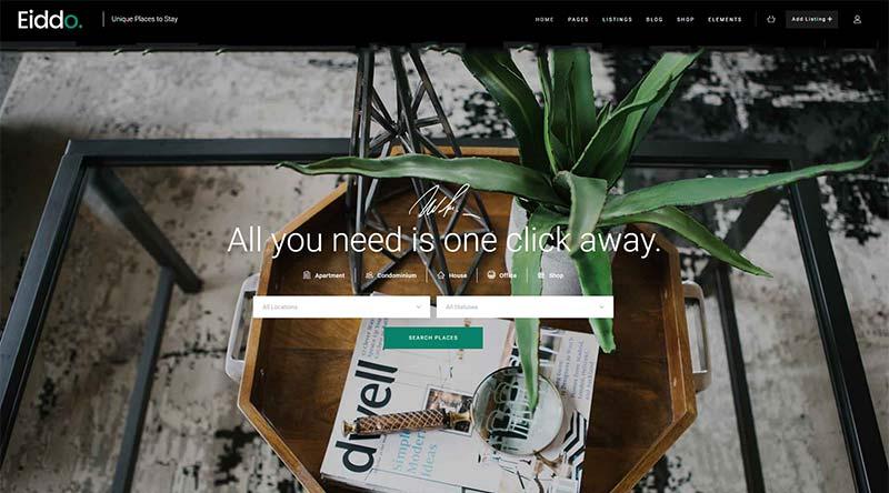 Eiddo WordPress Theme