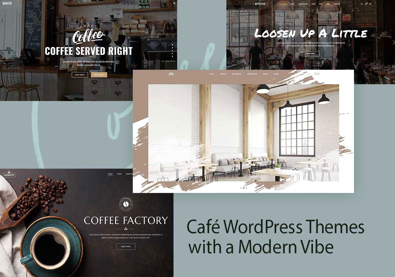 10+ Café WordPress Themes with a Modern Vibe 1
