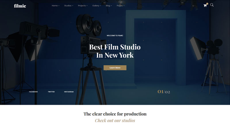 Filmic WordPress Theme