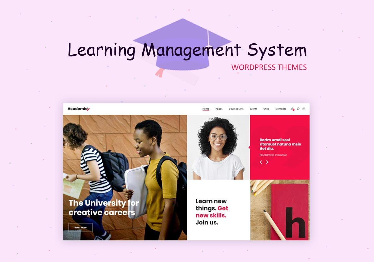 Learning Management System (LMS) WordPress Themes