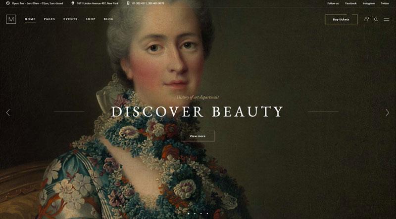 Musea WordPress Theme