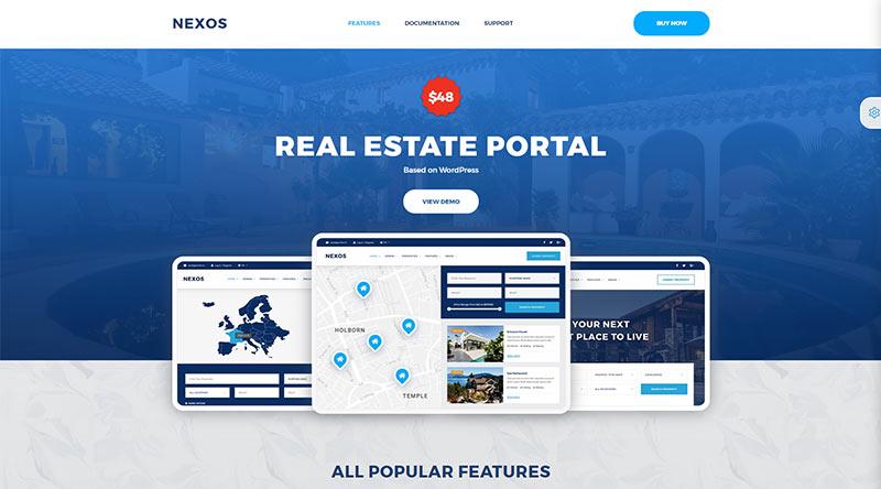 Nexos WordPress Theme