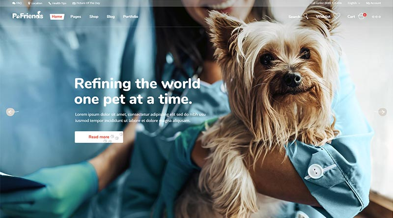 PawFriends WordPress Theme