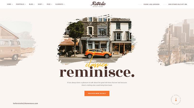 Retrolie WordPress Theme
