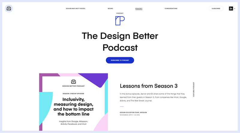 The Design Better Podcast