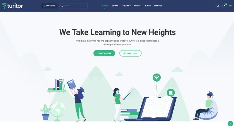 Turitor WordPress Theme