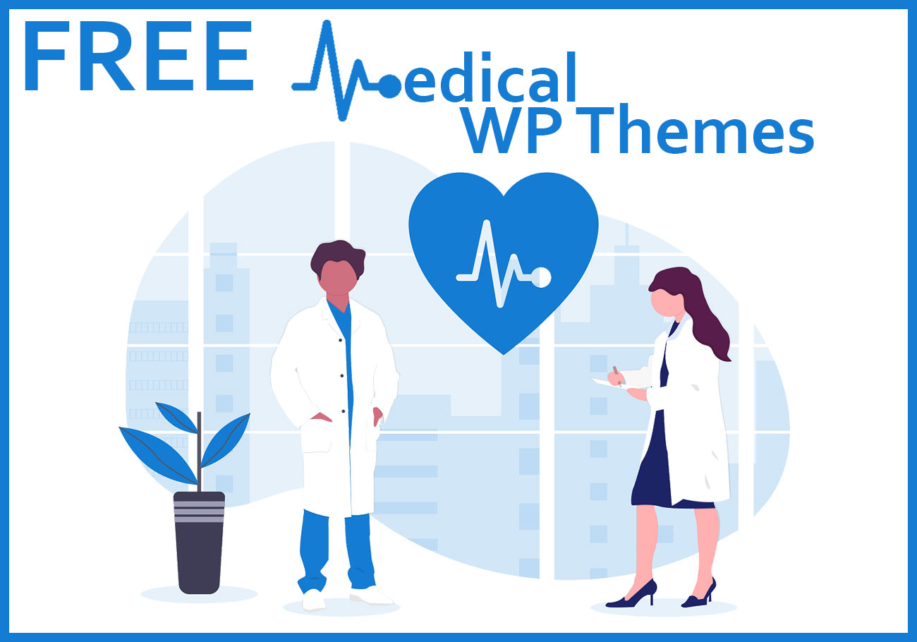 Professional Free Medical WordPress Themes