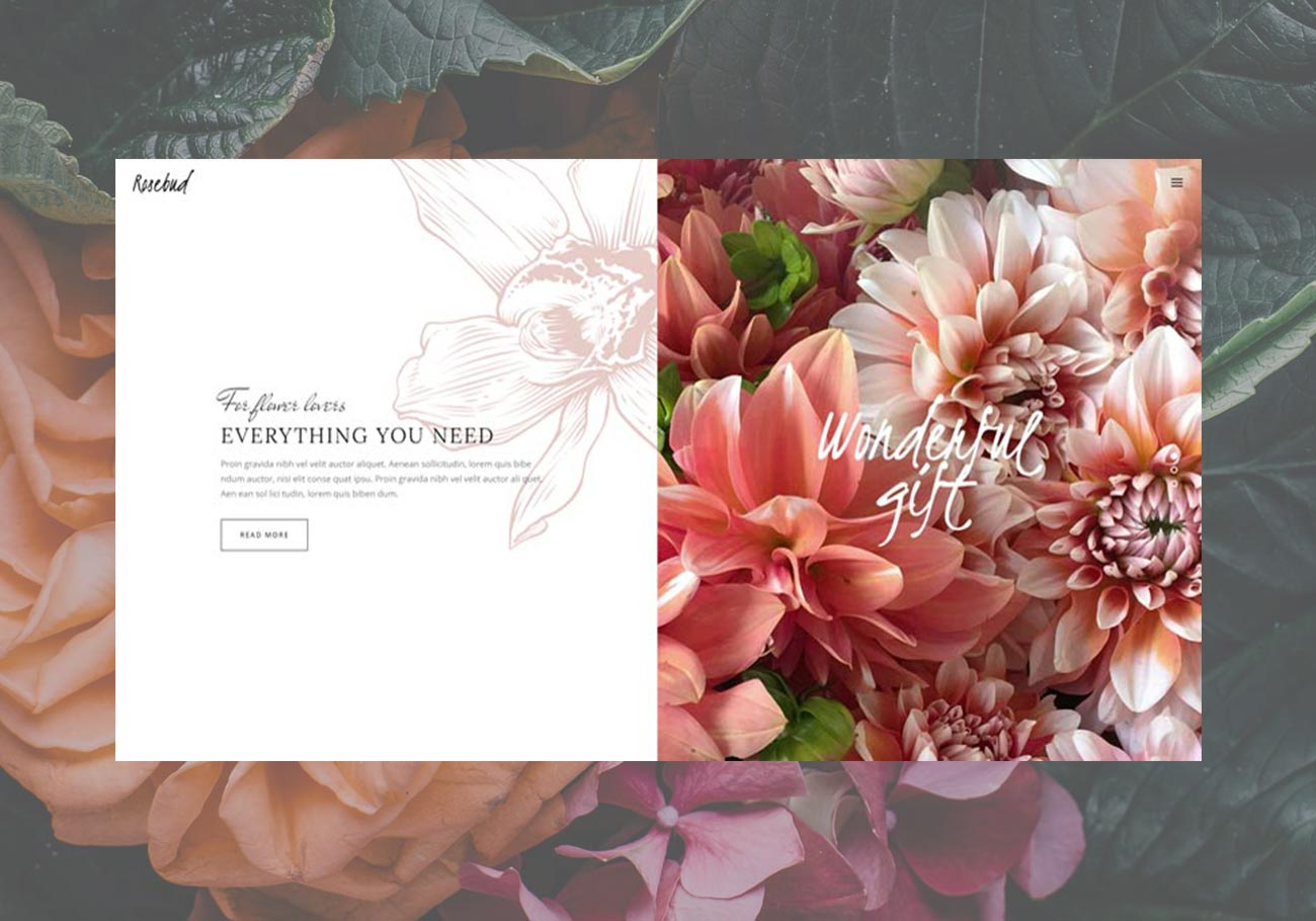 Best Flower Shop WordPress Themes