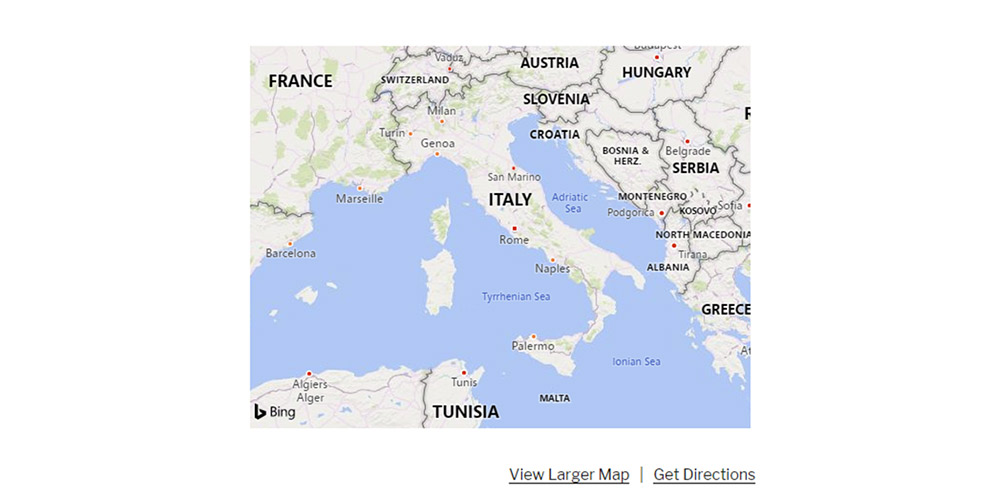 Bing Maps live