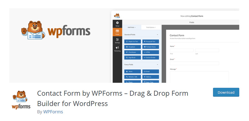 WPForms Lite Plugin