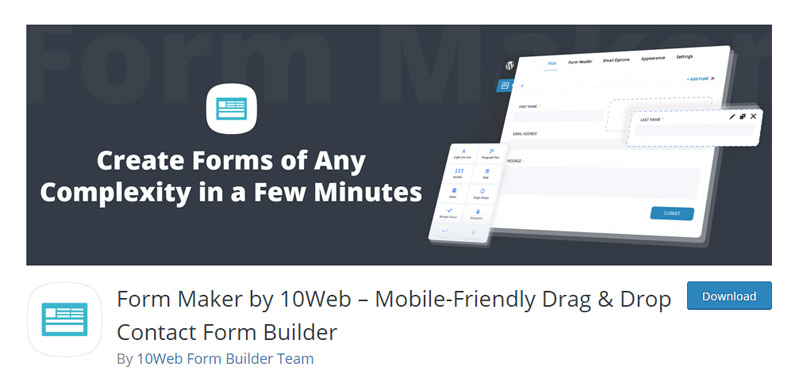 Form Maker Plugin