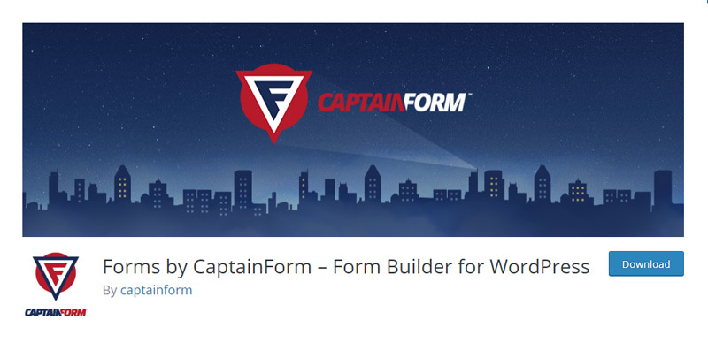 Captain Form Plugin